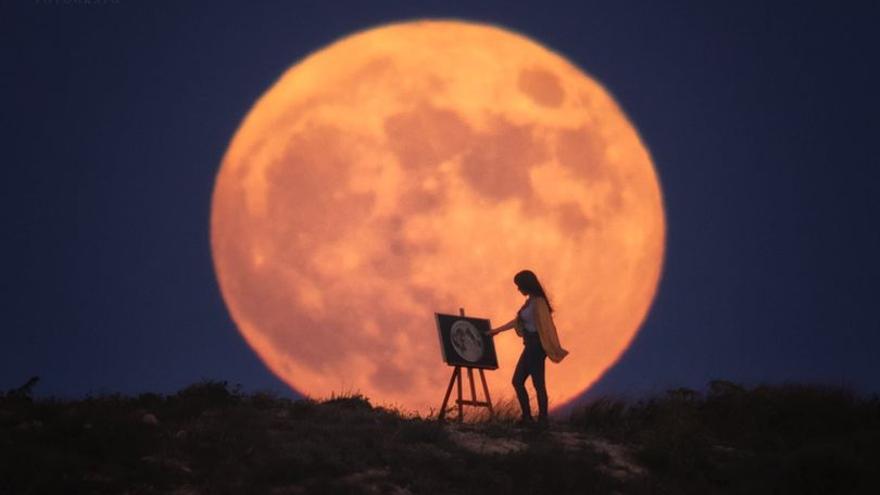 Luna de Fresa desde Elche