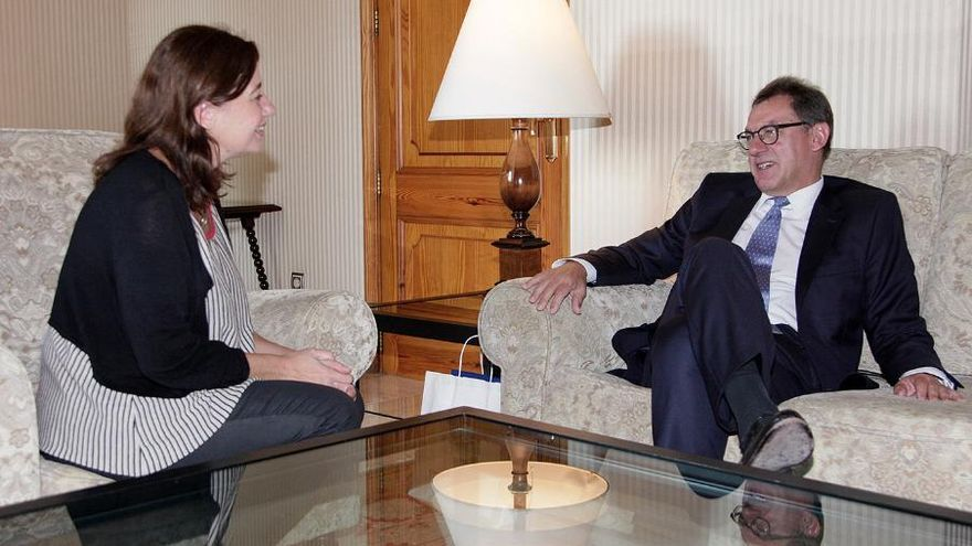 Ministerpräsidentin Armengol empfängt deutschen Botschafter