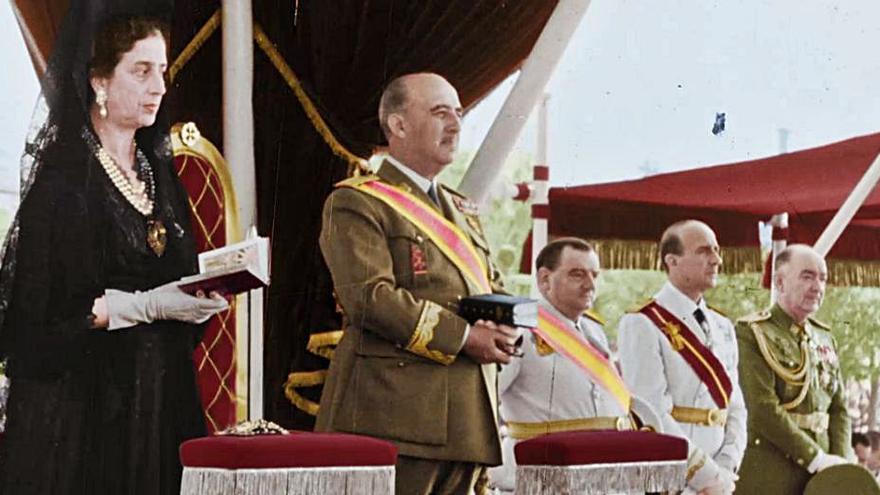 """DMAX emite """"Franco, la vida del dictador en color"""""""