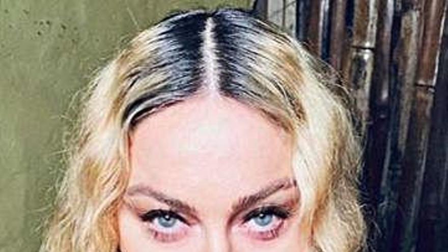 Madonna deja Lisboa con una videollamada