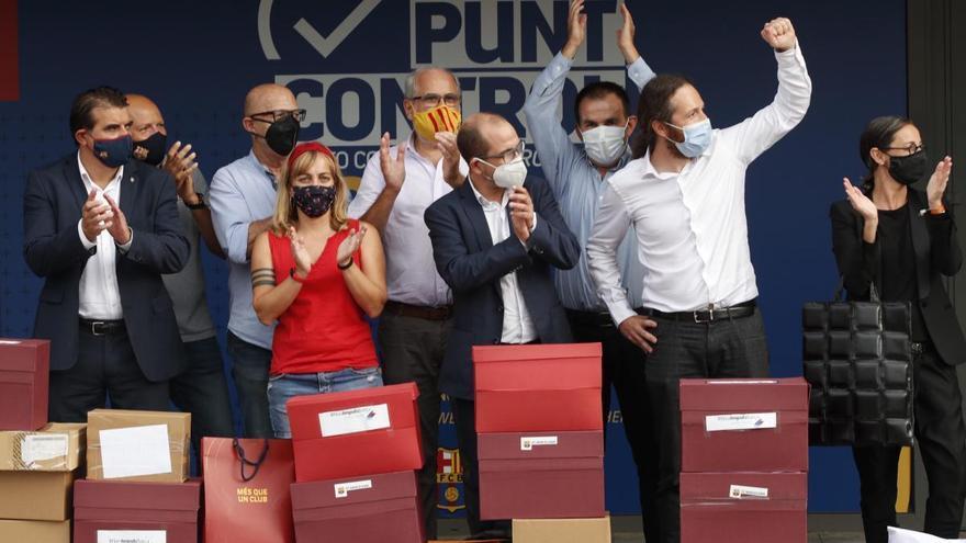 La moció de censura contra Bartomeu aconsegueix les signatures vàlides necessàries