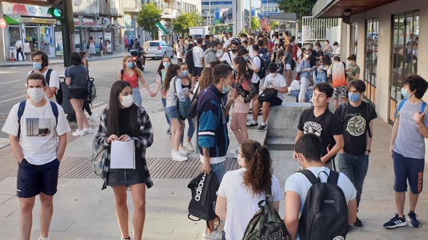 La generosidad del virus: el 95% de los bachilleres gallegos aprobaron