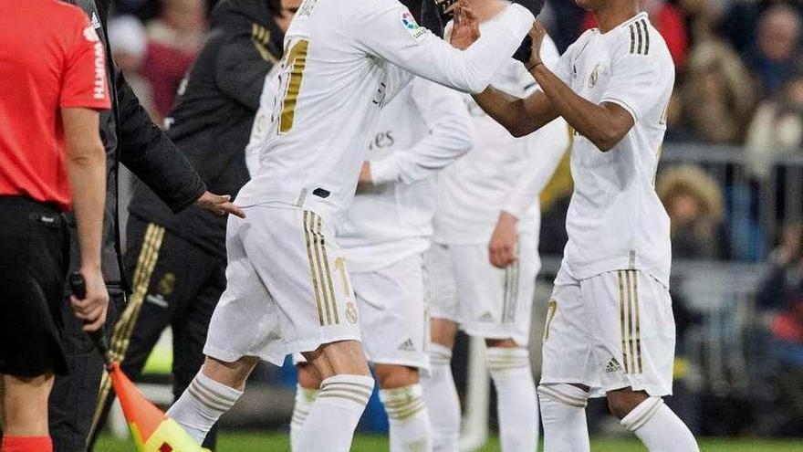 Modric lidera la remontada del Madrid