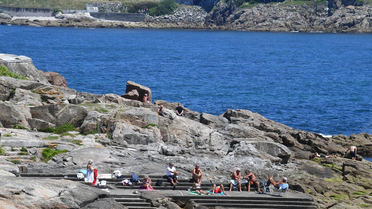 Jornada soleada en A Coruña