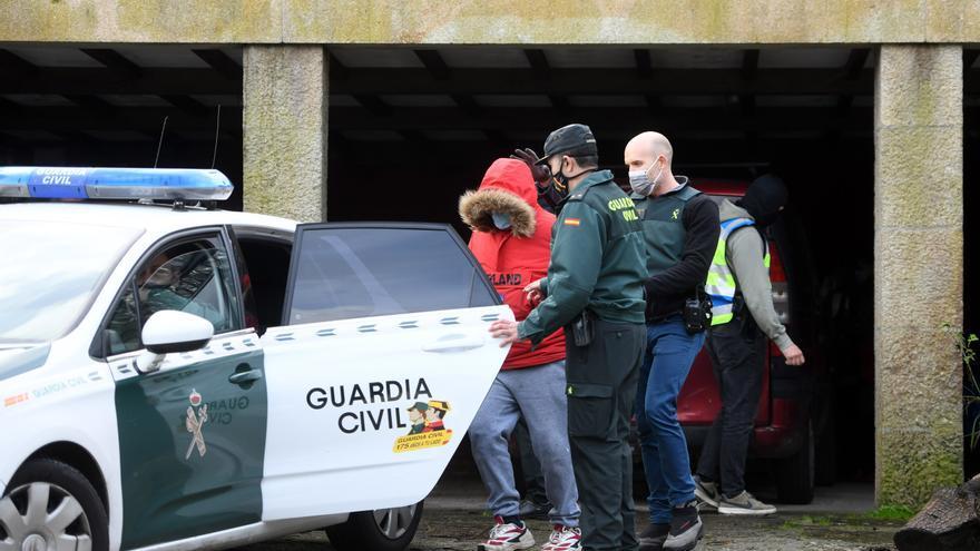 Siete detenidos en una operación antidroga en Pontevedra