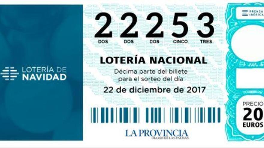 El quinto premio, con el 22253, también se reparte en Canarias