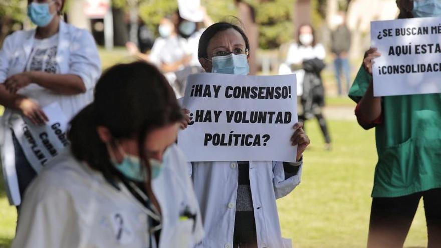 La huelga comienza con fuerza: más de la mitad de los médicos la secundan