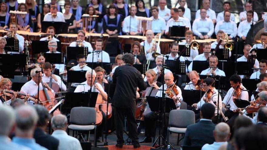 Formentor escucha a Gustavo Dudamel