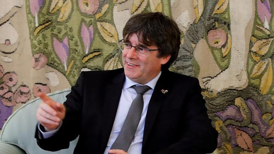 Puigdemont renunciará a su escaño en el Parlament si es elegido eurodiputado