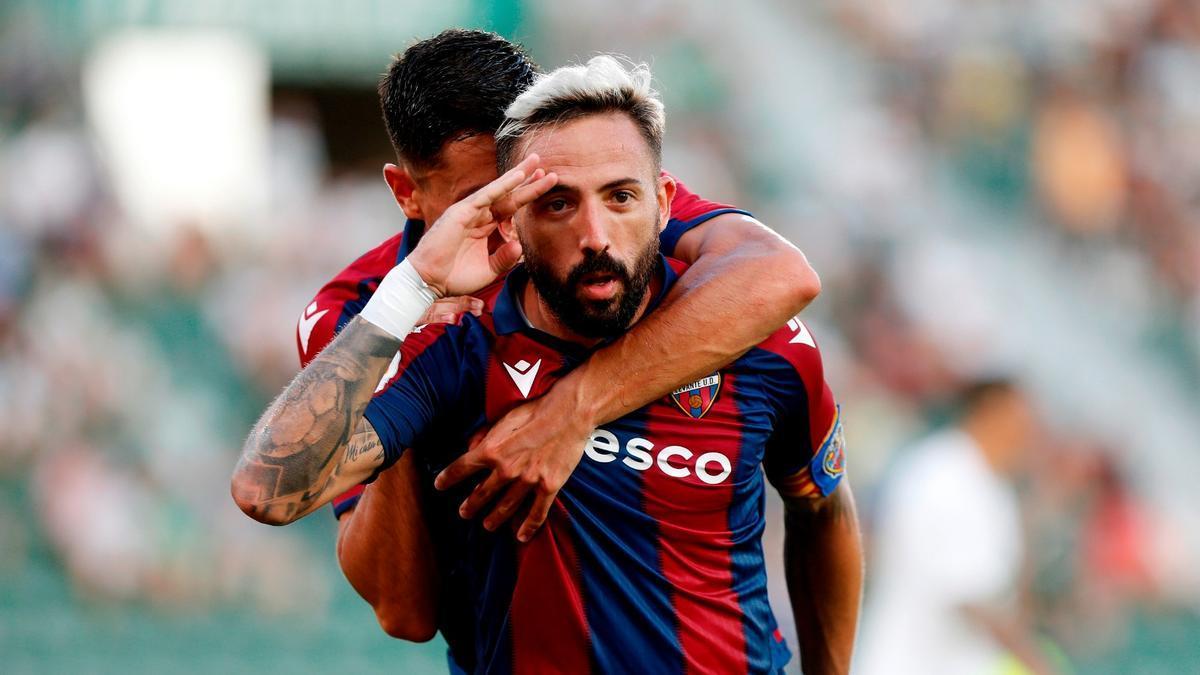Morales sale al rescate y salva un punto para el Levante UD
