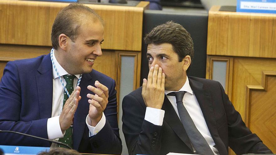 Mazón afronta su propia crisis en la Diputación de Alicante al irse el portavoz