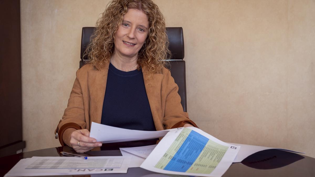 Archivo - La consejera de Empleo del Cabildo de La Palma, Raquel Díaz