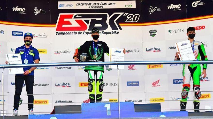 Ángel Heredia da dos podios al Deza Ismabon