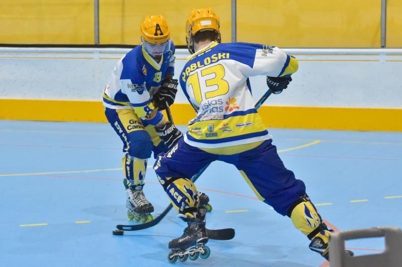11-02-2010 LAS PALMAS DE GRAN CANARIA. Reportaje al Molina Sport de hockey linea, campeón de la Copa del Rey, en el pabellón García San Román  | 11/02/2020 | Fotógrafo: Andrés Cruz