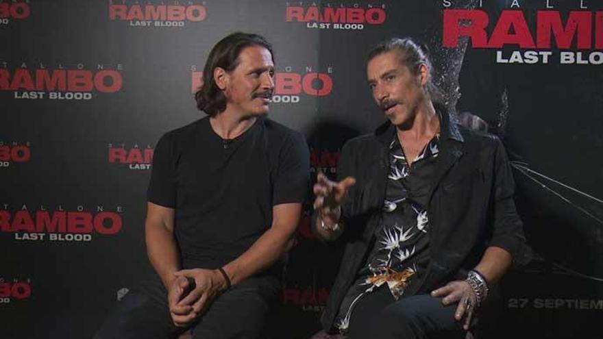 Óscar Jaenada y Sergio Peris-Mencheta, villanos en 'Rambo: Last Blood', destripan la película