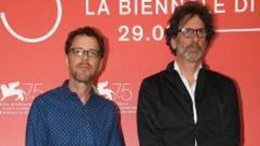Los hermanos Coen compiten en Venecia con un western «icónico»