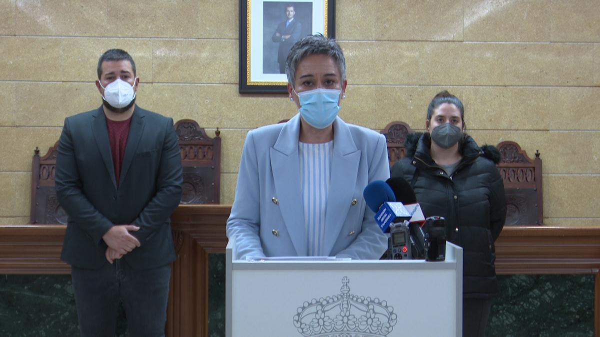 La alcaldesa de Calasparra, Teresa García