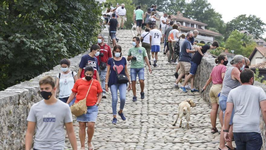 La comarca de los Picos rozó el 70% de ocupación la primera quincena de julio