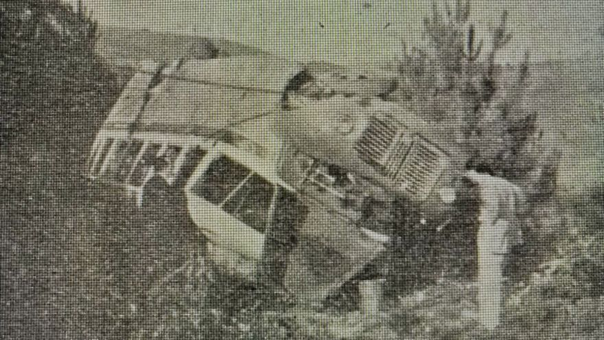 Trágico accidente camino de O Corpiño