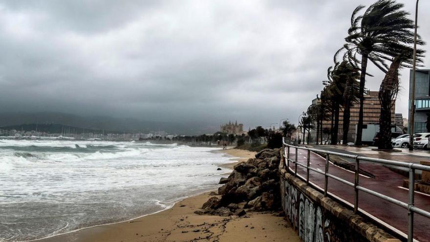 Mallorca, en alerta por fuertes lluvias