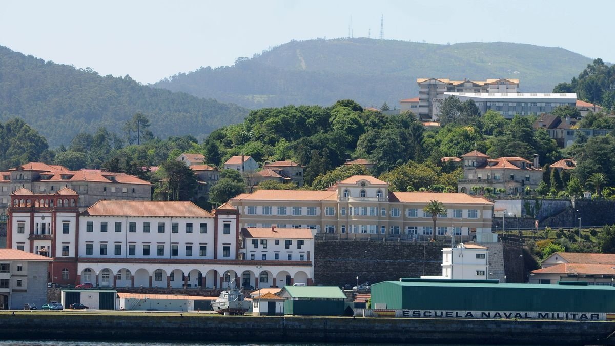 Vista de la Escuela Naval.