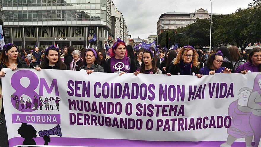 El Gobierno prohíbe las manifestaciones del 8-M en Madrid y en Galicia se mantienen 85