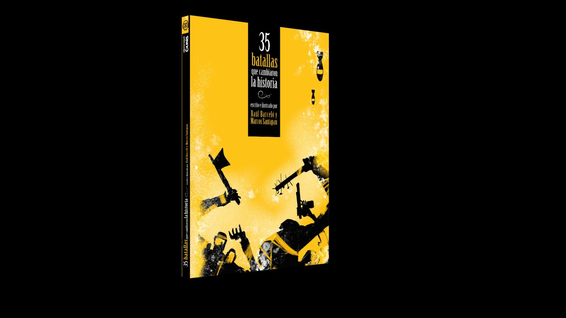 """Libro """"35 batallas que cambiaron la historia"""""""