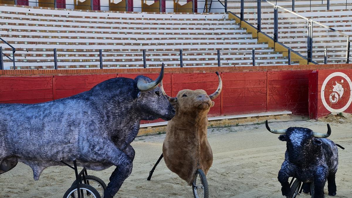 Carretones con los que jugarán los más pequeños de Teruel