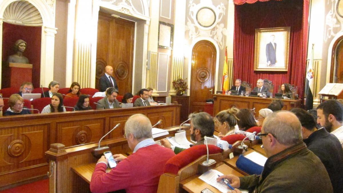 El Ayuntamiento de Badajoz aprueba la subida salarial del 2,25% a los empleados municipales