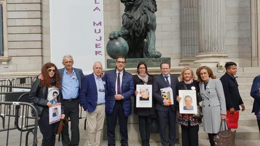 QSD eleva al Congreso su petición de un Estatuto del Desaparecido