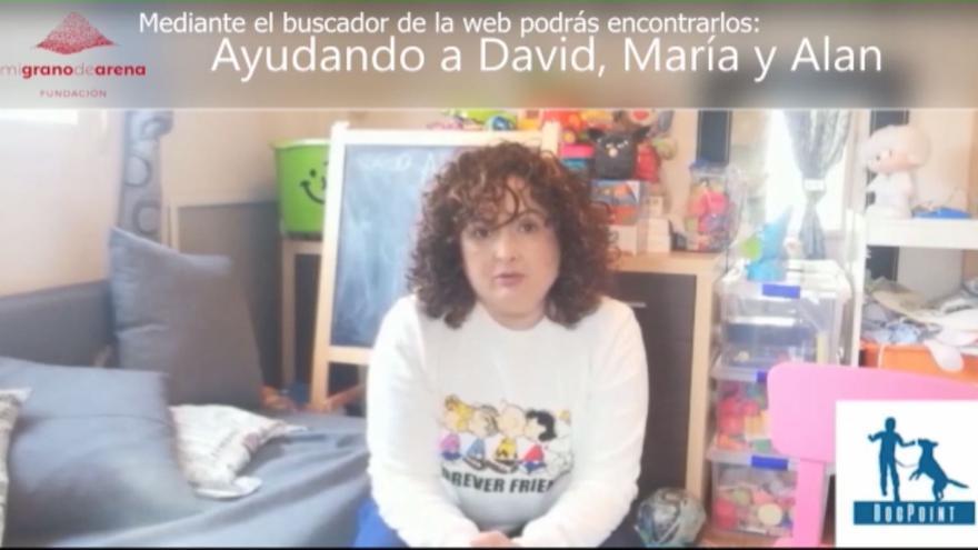 Una valenciana explica los beneficios de tener un perro de asistencia para niños con autismo