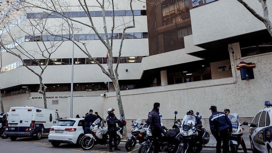 Siete detenidos por propinar una paliza a un joven en Palma