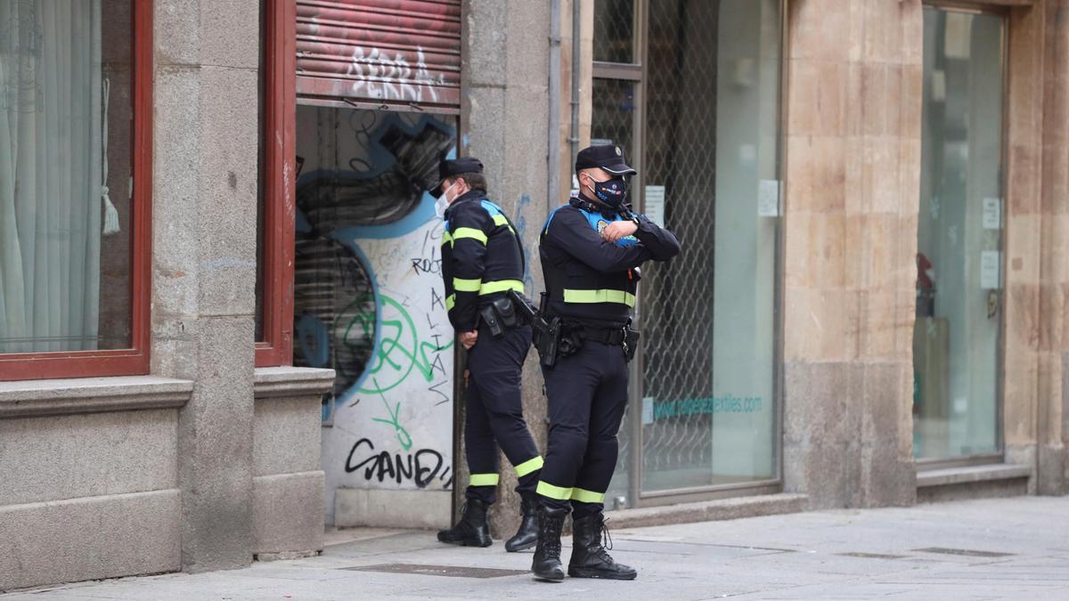 Agentes de la Policía Local.