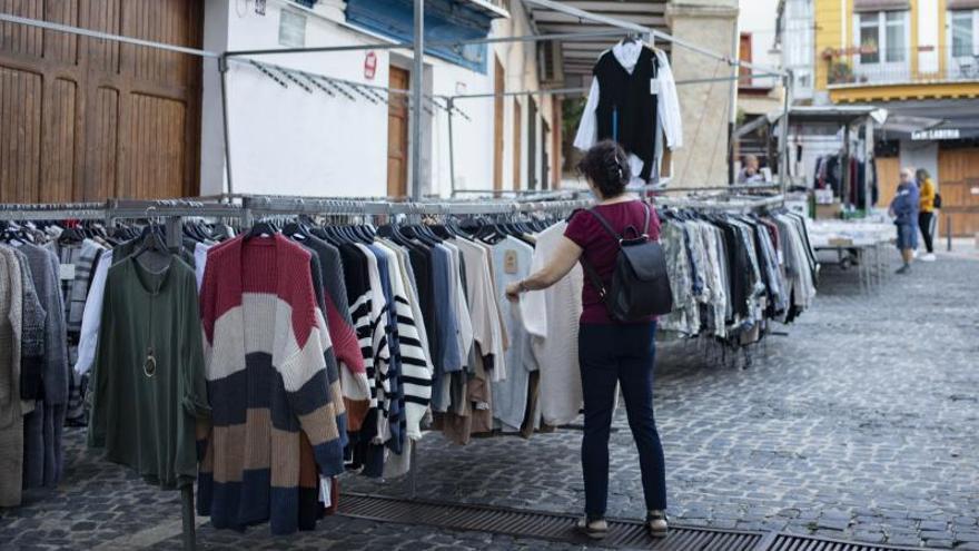 El «mercat» de Xàtiva recupera su espacio