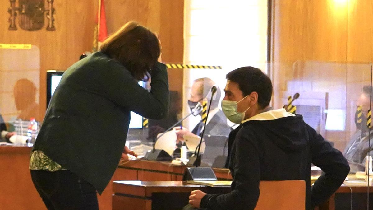 Lino Alonso, el que fuera presidente de Asaja Valladolid, en una sesión del juicio.