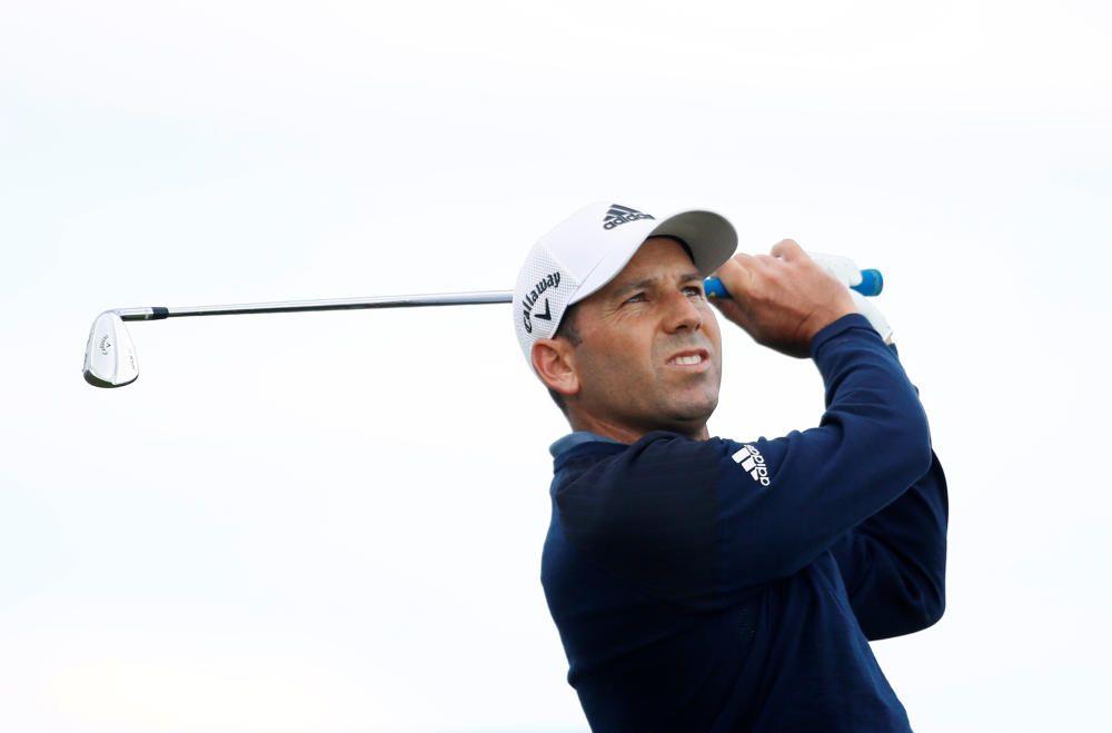 Sergio García, golf