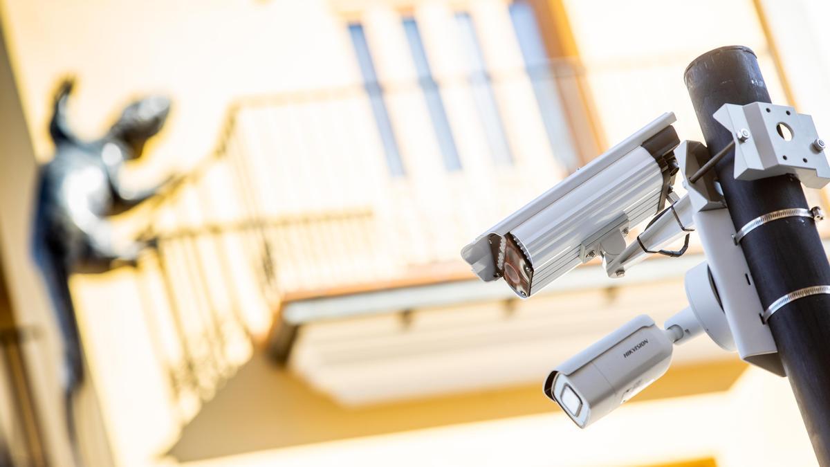 En breve se ponen en marcha las cámaras de vigilancia para controlar el acceso a Ciutat Vella
