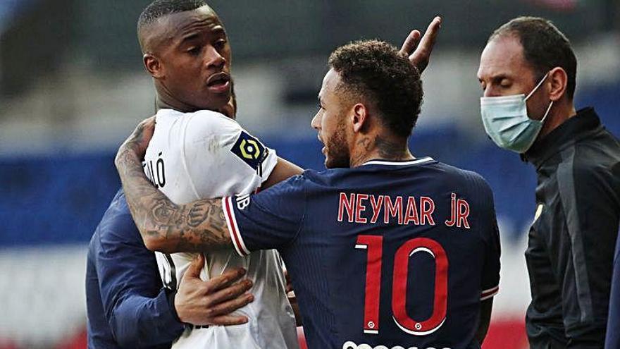 El PSG perd amb Neymar expulsat