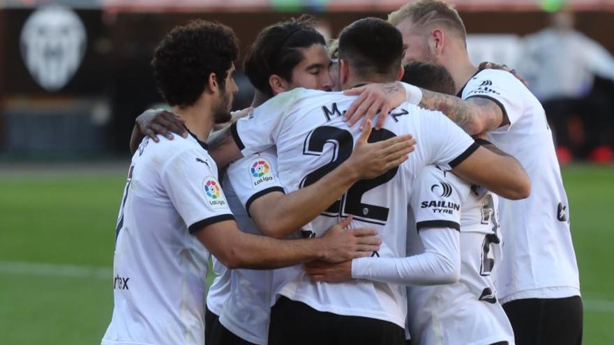 Sigue en directo el Valencia CF - Real Valladolid