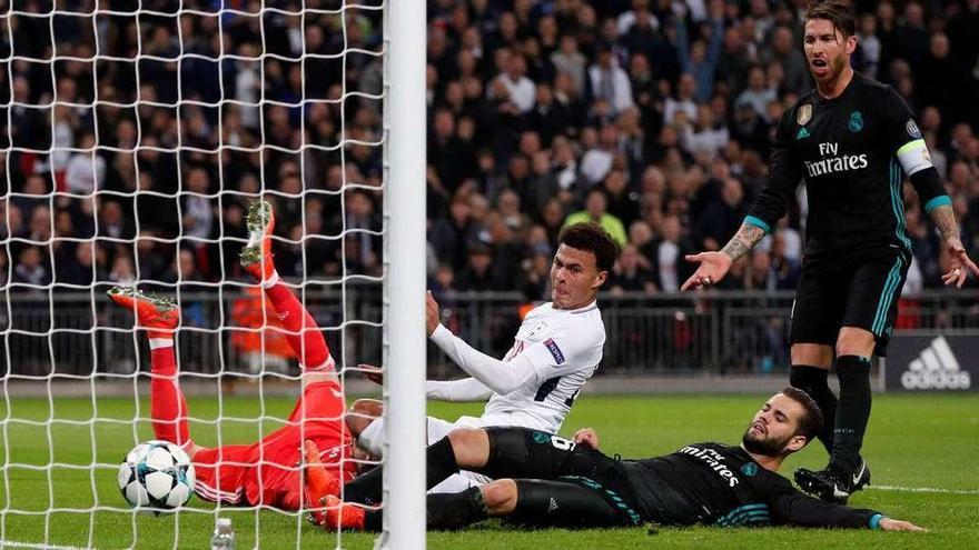 Wembley aplasta al Real Madrid