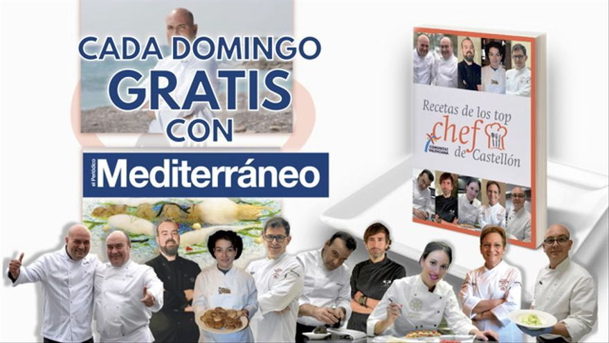 Libro Recetas Chefs Mediterráneo