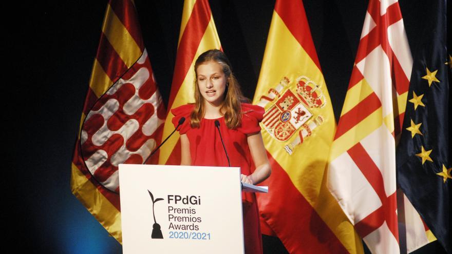 Los reyes asisten a la entrega de los premios de la Fundación Princesa de Girona