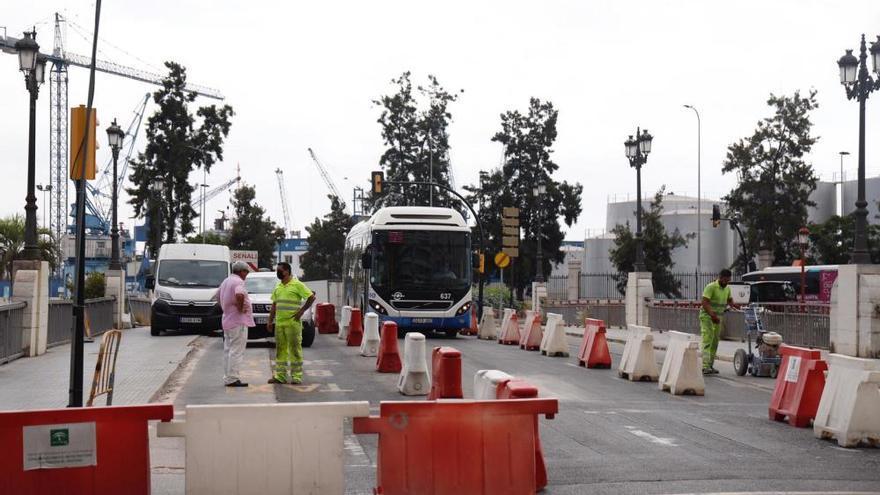 Este miércoles inician el cambio de tráfico del Puente del Carmen