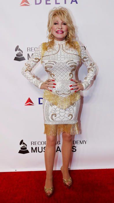 Dolly Parton, en los Grammy.