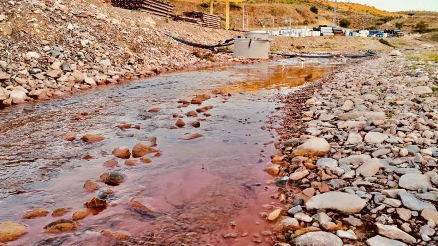 """La CHE admite un vertido en el río Grío no tratado de forma """"óptima"""""""