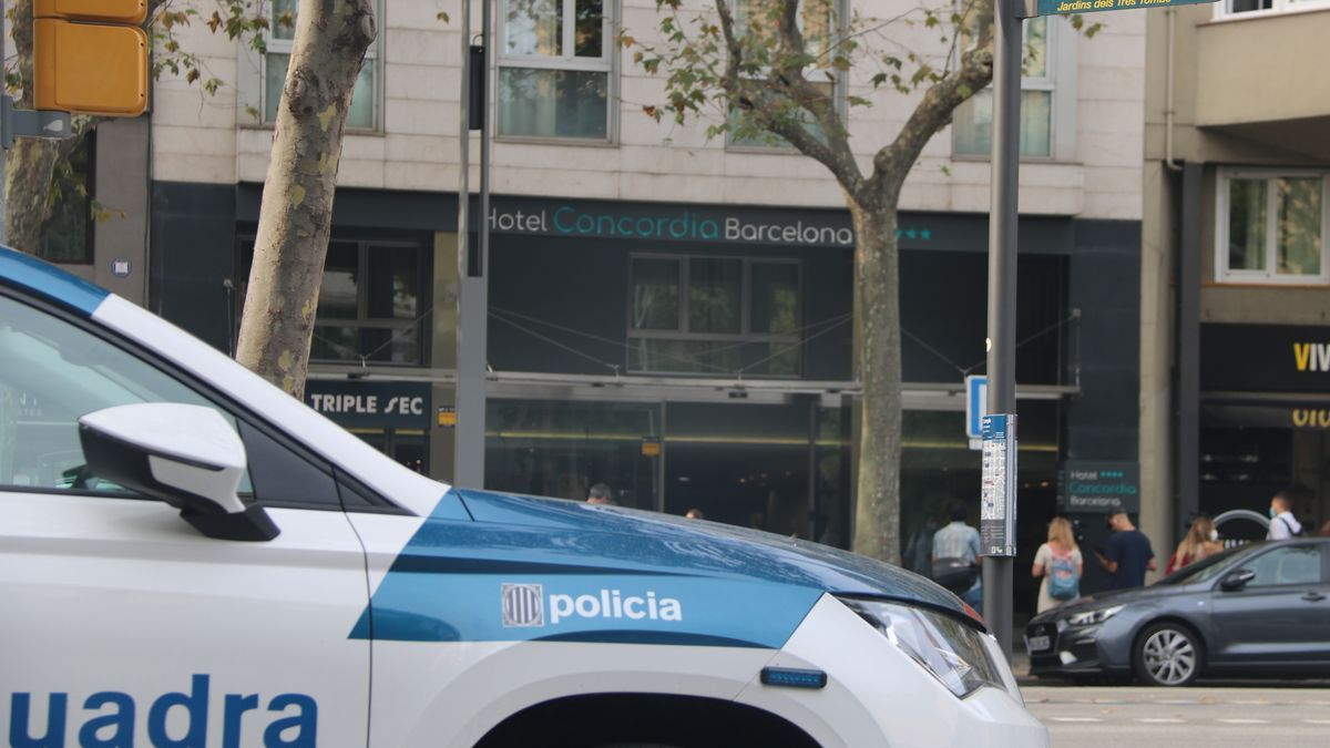 Els Mossos creuen que el pare que va asfixiar el fill a un hotel de Barcelona es va suïcidar poques hores després