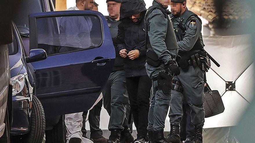 Trasladan a una cárcel de Castellón al presunto asesino de Marta Calvo