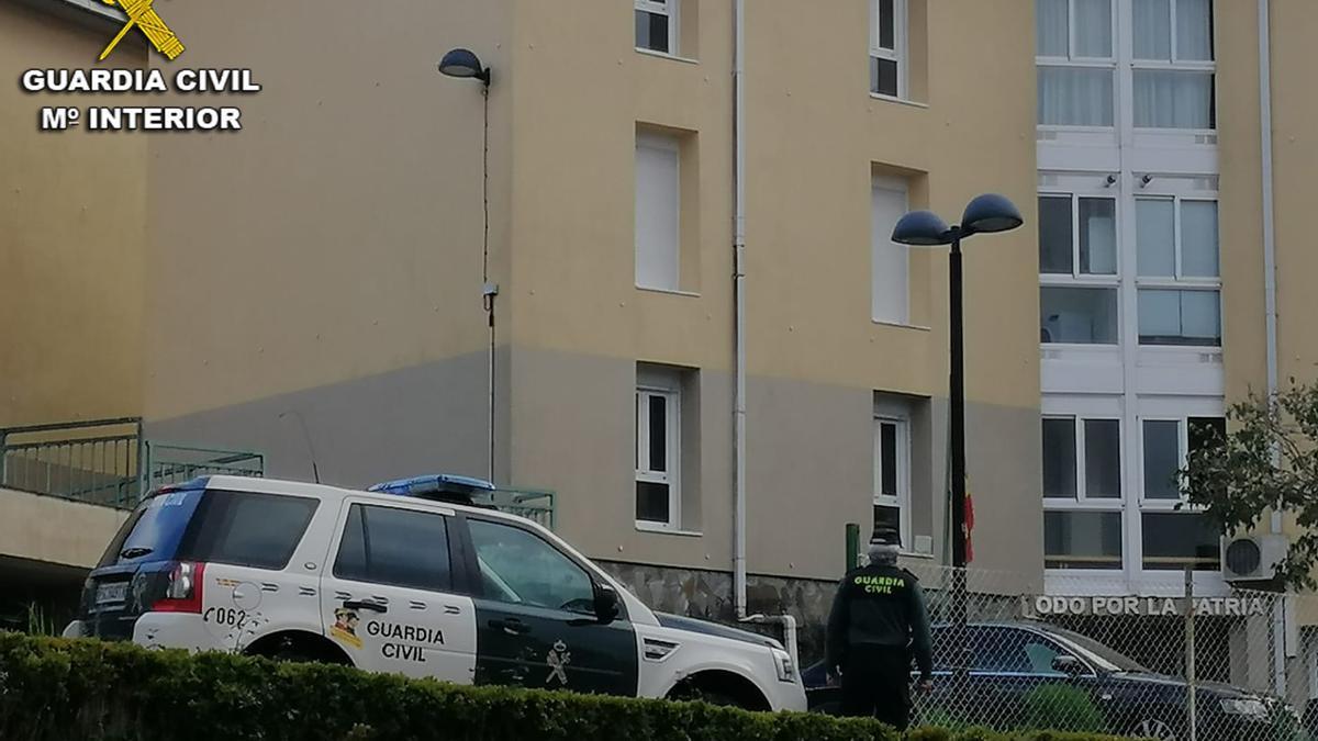La investigación fue desarrollada por el Puesto de la Guardia Civil de A Estrada. // OPC Pontevedra