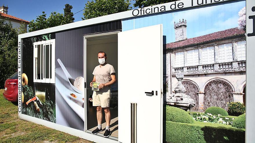 La oficina de turismo de Oca atiende a más de 160 visitantes en una semana