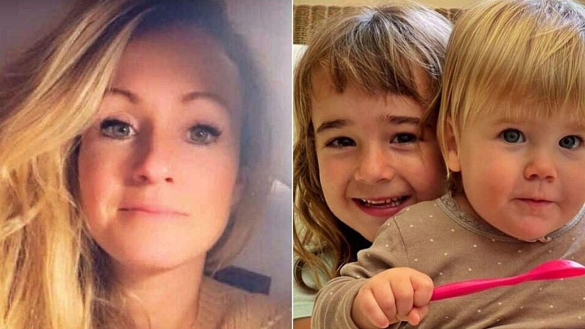 Beatriz Zimmermman y sus hijas Olivia y Anna.